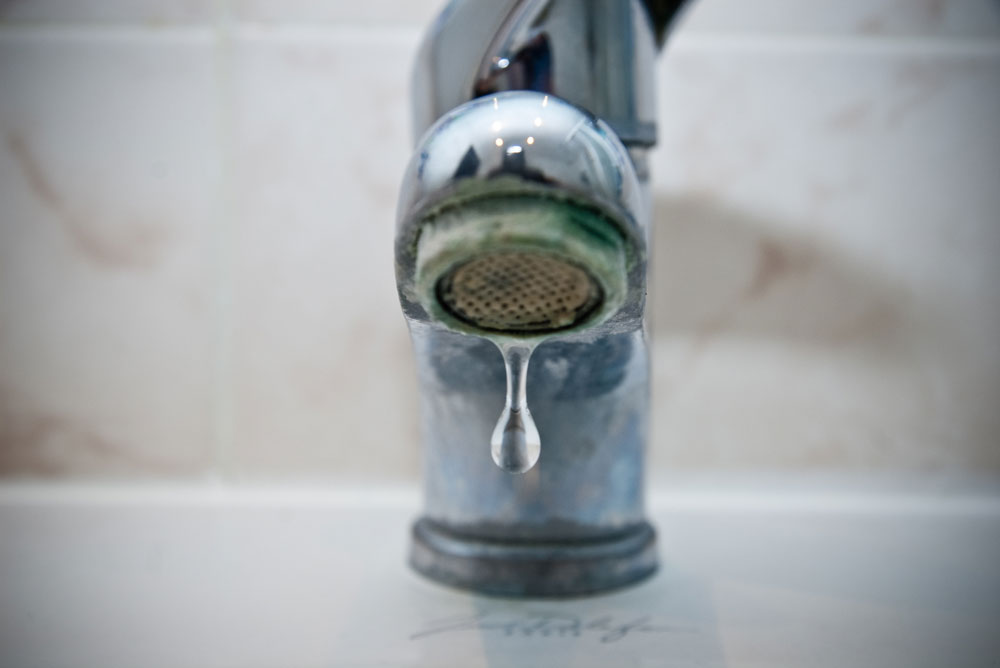 robinet entartré