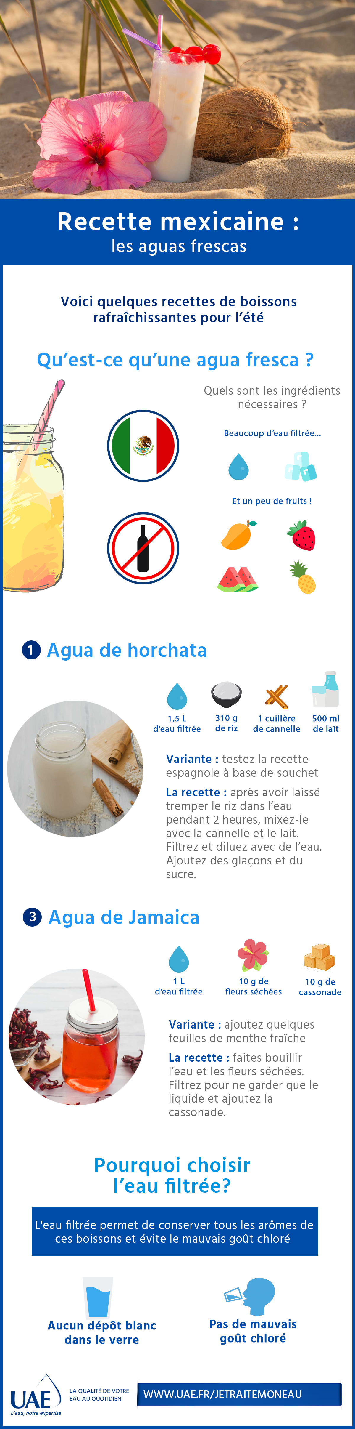 recette agua fresca