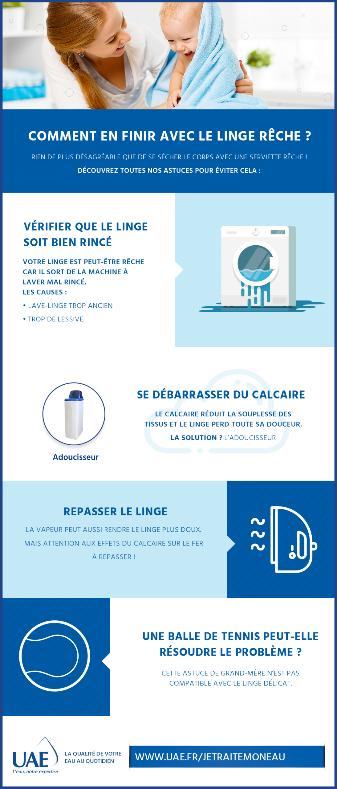 infographie linge reche